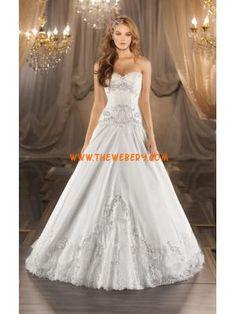 favolosa principessa senza spalline in raso perline abito da sposa 2013