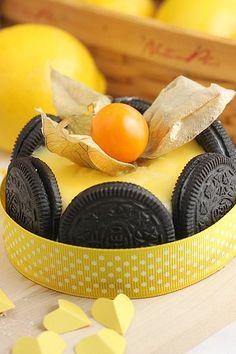 Oreo Lemon Cheese Cake
