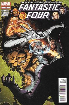 The Wizard _Written By Jonathan Hickman , Art By Ryan Stegman, Cover Art By Ryan Stegman , the Fantastic Four must deal with the fallout of the Wizard returning to claim his son, Future Foundation mem