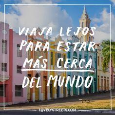 """2,711 Me gusta, 8 comentarios - Lovely Streets (@lovelystreetsofficial) en Instagram: """"Cuanto más lejos viajamos, más nos damos cuenta de lo poco que importan las fronteras y de cuanto…"""""""
