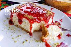 Borcamda Pratik Cheesecake Tarifi Graham Crackers, Cheesecake Recipes, Cheesecakes, My Recipes, French Toast, Yummy Food, Eat, Breakfast, Desserts