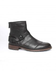 Belstaff Black Trailmaster Short Boots