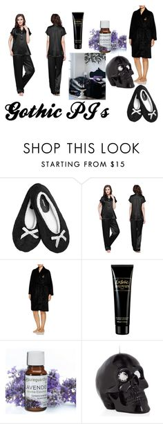 """""""Gothic PJ's"""" by jessieholloway13 on Polyvore featuring Avenue, Ralph Lauren, Balmain and plus size clothing"""
