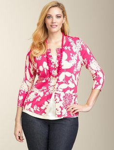 Lily-esque cardi from Talbots #plussize