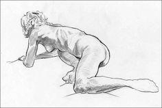 Gavin worth - Pencil, 20 minute pose