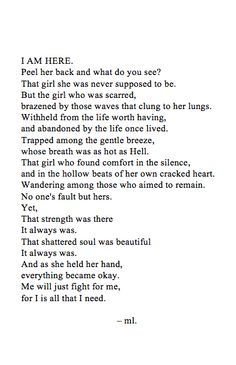 Just wrote this. That's my story.