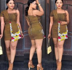 Smart Casual Ankara outfits we have for you is well selected for you to copy the styles and sew and wear on your weekends or some of your daily outtings to look smart and Adorable. African Fashion Ankara, African Inspired Fashion, African Print Fashion, African Wear, African Attire, African Prints, Ghanaian Fashion, Short Ankara Dresses, Ankara Dress Styles