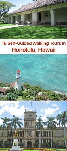 Self-guided Walking Tours in Honolulu, Hawaii
