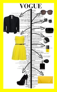 """VOGUE"" by markulin-lucija ❤ liked on Polyvore"