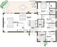 Luxury H omes em Miami Square House Plans, House Floor Plans, Sims Building, Building A House, Mansion Plans, Dark House, Modern Mansion, Villa, House Layouts