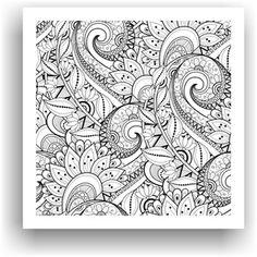 Obraz k vymalování no. 61, 50x50 cm