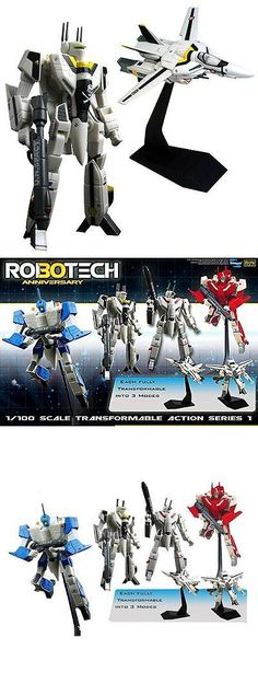 Anime and Manga 158666: Robotech 30Th Anniversary Roy Fokker Vf-1S Transformable 1:100 Scale (Series 1) -> BUY IT NOW ONLY: $54.99 on eBay!
