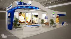 Calin Dairy - Tehran Agrofood EX 2015 by Farid Javan at Coroflot.com