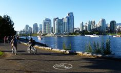Petite ballade à vélo à Vancouver city !