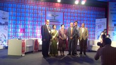 """TAFE Chairman Mallika Srinivasan was part of a panel discussion which addressed the issue """"Why aren't India's Professional Colleges Considered World Class"""" at the THINKEDU Conclave organised by New Indian Express.  tafe.com   tafecafe.org"""