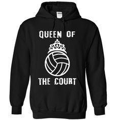 Queen of the court - Volleyball T Shirt, Hoodie, Sweatshirt