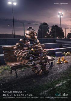 diaTribe Foundation: Child obesity - boy | Ads of the World™