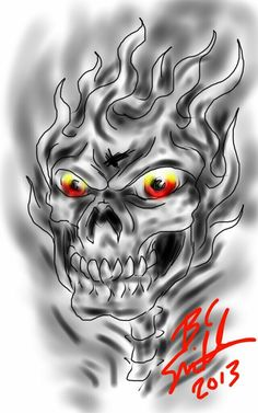 One of my first digital finger paintings before owning procreate, this was actually done on a Friend's Kindle Fire by B.C. Smith 2013 - Created In #sketchbookpro