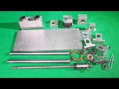 Homemade X Y Z Aluminium Stage Router Mill Frame DIY Axis Slide CNC Step...