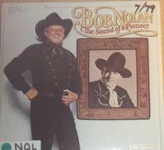 Bob Nolan The Sound Of A Pioneer Vinyl Country Promo Radio Station Copy Record Album by RASVINYL on Etsy
