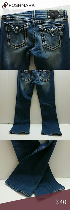 MISS ME WOMEN JEANS VERY CLEAN INSIDE-OUT   SKE # VGC Miss Me Jeans Boot Cut