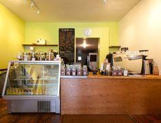 T.A.N. Coffee Coffee Shops, Liquor Cabinet, Toronto, Spaces, Storage, Furniture, Shopping, Home Decor, Purse Storage