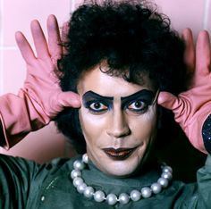 Tim Curry as Dr Frank-N-Furter in Rocky Horror Picture Show photographed by Mick Rock Rocky Horror Show, The Rocky Horror Picture Show, Transgender, Video Clips, Thats The Way, Great Movies, Awesome Movies, Movies Showing, I Movie