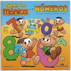 Livro dos números turma da Mônica