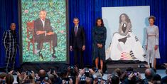 Barack and Michelle Obama's Official Portraits Have Been Unveiled - Cosmopolitan.com