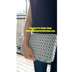 "Bao Bao by Issey Miyake ""C Clutch"".  Very light in weight. Only 175g! Color: White  Size: H34.5×W29×D0.7(cm) Design: Unisex Ship from Japan. ✿To Order, please message/email below✿ ♥️FB Inbox:  https://www.facebook.com/messages/baobaohandbags ♥️Email: welovebaobao@gmail.com ✿Visit Us✿ www.baobaopreordershop.com"