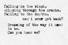 skillet - Falling inside the black