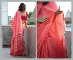ATHANGUDI - contemporary saris in organic cotton by Tanvi Kareer at Coroflot.com