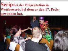 """Serip: Gewinner von 17 internationalen Preisen. Letzte Mikromagie, bei Zauberfestival """"Divadlo Kouzel Magie"""", der 2016.03.19."""