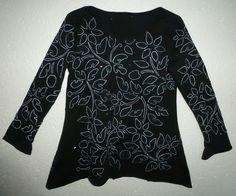Nr.31, revers applique with beads