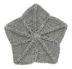 Knit Motif: Radiant Star. Hmmm. Looks like a 10-section crown decrease to me. Or an increase if you were working top-down.