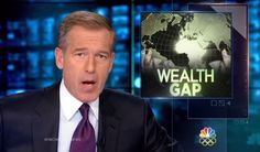NBC Nightly News Multi-Millionaire Brian Williams Lectures Viewers on Income Inequality - And manages to quote Karl Marx in the process