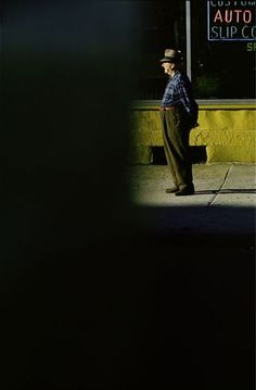 If Charlie Parker Was a Gunslinger,There'd Be a Whole Lot of Dead Copycats: Saul Leiter and the City #1