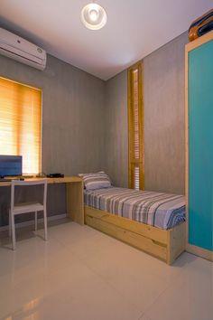 Bioclimatic and Biophilic Boarding House Bedroom Interior, Bedroom Design, Home Room Design, Minimalist Room, Interior Design Bedroom, Indian Bedroom Decor, Room Design Bedroom, Room Design, Home Decor Furniture