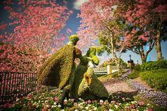 Disneyland Paris topiary