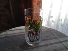 The Great Muppet Caper Kermit on Bicycle by Arnettsantiques, $4.00