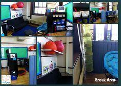 Break Area in an Autism Classroom