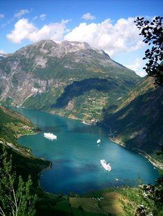 troll fjorden  - Bergen, Norway   I love bergen <3