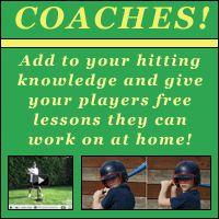 Coaching Tips  Backyard Hitting Lessons