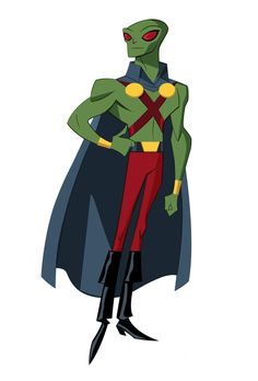 Martian Manhunter (Justice League Action) by Shane Glines