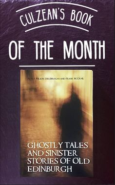 """t's not a trick, it's a treat! Prepare for the spookiest night of the year with Culzean's #BookOfTheMonth  🎃 Featuring over one-hundred surprising tales and stories, 'Ghostly Tales and Sinister Stories of Old Edinburgh' is the perfect boOo-k this October! Available from the Castle Gift Shop  """