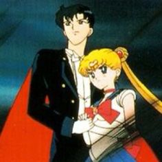 Sailor Moon and Tuxedo Mask @Amanda Bedwell