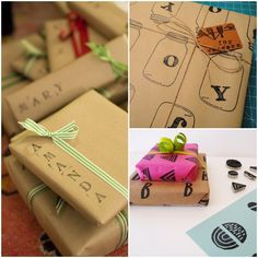 DIY Thursday: 8 DIY Holiday Gift Wrap Ideas | Redesign Revolution