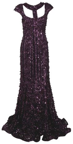 A beautiful purple sequin gown that is sooooo gigorgouse it's amazing I would get this dress if I could!!!!