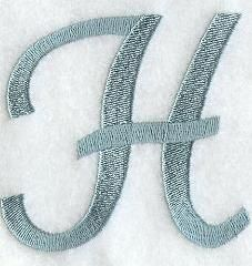Machine Embroidery Designs at Embroidery Library! - Flair Script Alphabet