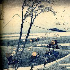 miyabi-iki:  Hokusai